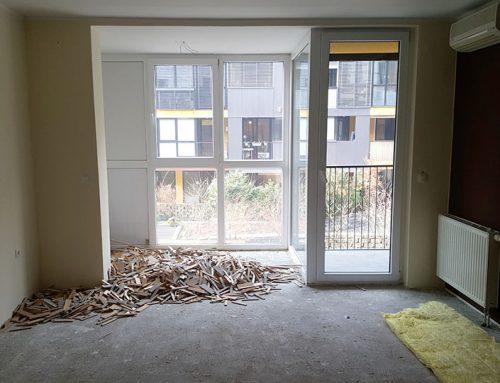 Delna prenova 100m2 stanovanja na Mesarski ulici