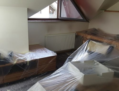 Beljenje in končno čiščenje stanovanja v Šentvidu