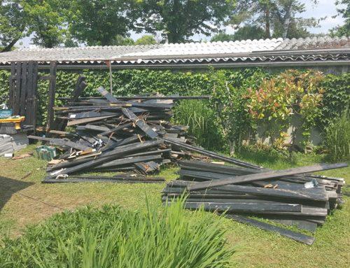 Izvedba vzdrževalnih del – hiša v Murglah